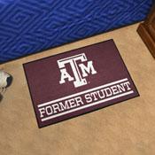 Texas A&M University Alumni Starter Mat 19