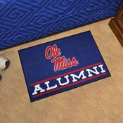 University of Mississippi (Ole Miss) Alumni Starter Mat 19