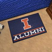 University of Illinois Alumni Starter Mat 19