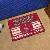 Arizona Diamondbacks Baseball Club Starter Rug 19x30