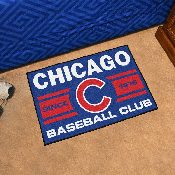 Chicago Cubs Baseball Club Starter Rug 19x30