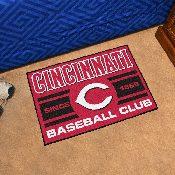 Cincinnati Reds Baseball Club Starter Rug 19x30
