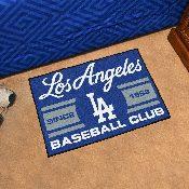Los Angeles Dodgers Baseball Club Starter Rug 19x30