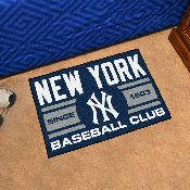 New York Yankees Baseball Club Starter Rug 19x30