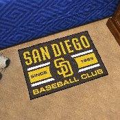 San Diego Padres Baseball Club Starter Rug 19x30