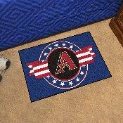 MLB - Arizona Diamondbacks Starter Mat - MLB Patriotic 19