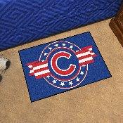 MLB - Chicago Cubs Starter Mat - MLB Patriotic 19