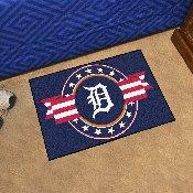MLB - Detroit Tigers Starter Mat - MLB Patriotic 19