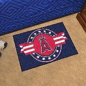 MLB - Los Angeles Angels Starter Mat - MLB Patriotic 19