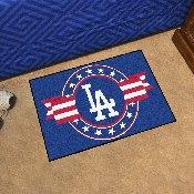 MLB - Los Angeles Dodgers Starter Mat - MLB Patriotic 19