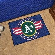 MLB - Oakland Athletics Starter Mat - MLB Patriotic 19