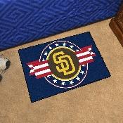 MLB - San Diego Padres Starter Mat - MLB Patriotic 19