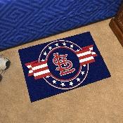 MLB - St. Louis Cardinals Starter Mat - MLB Patriotic 19