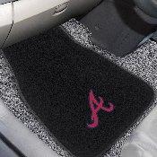 MLB - Atlanta Braves 2-pc Embroidered Car Mat Set