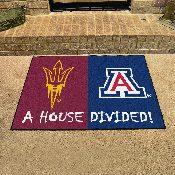 Arizona State / Arizona House Divided Rug 33.75x42.5