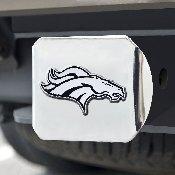 NFL - Denver Broncos Chrome Hitch - Chrome3.4