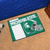 Michigan State Uniform Inspired Starter Rug 19x30