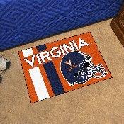 Virginia Uniform Inspired Starter Rug 19x30