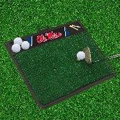 Ole Miss Golf Hitting Mat 20 x 17