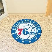 NBA - Philadelphia 76ers Roundel Mat