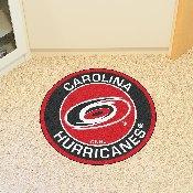 NHL - Carolina Hurricanes Roundel Mat