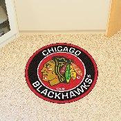 NHL - Chicago Blackhawks Roundel Mat