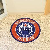 NHL - Edmonton Oilers Roundel Mat