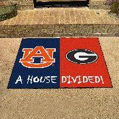 Auburn - Georgia House Divided Rug 33.75x42.5