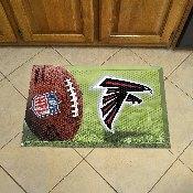 NFL Atlanta Falcons Scraper Mat 19x30