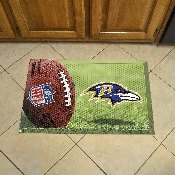 NFL Baltimore Ravens Scraper Mat 19x30