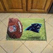 NFL Carolina Panthers Scraper Mat 19x30