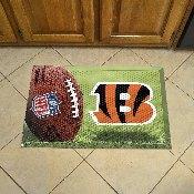 NFL Cincinnati Bengals Scraper Mat 19x30