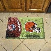 NFL - Cleveland Browns Scraper Mat 19x30 - Ball