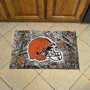NFL - Cleveland Browns Scraper Mat 19x30 - Camo