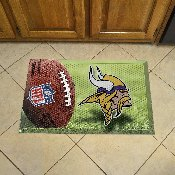 NFL Minnesota Vikings Scraper Mat 19x30