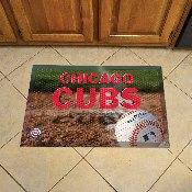 NFL Chicago Cubs Scraper Mat 19x30