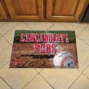 NFL Cincinnati Reds Scraper Mat 19x30