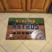 NFL Houston Astros Scraper Mat 19x30