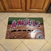NFL Los Angeles Angels Scraper Mat 19x30