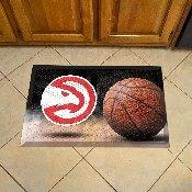 NBA - Atlanta Hawks Scraper Mat 19x30 - Ball