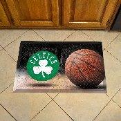 NBA - Boston Celtics Scraper Mat 19x30 - Ball