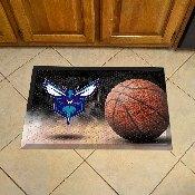 NBA - Charlotte Hornets Scraper Mat 19x30 - Ball