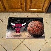 NBA - Chicago Bulls Scraper Mat 19x30 - Ball