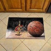 NBA - Cleveland Cavaliers Scraper Mat 19x30 - Ball