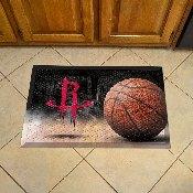 NBA - Houston Rockets Scraper Mat 19x30 - Ball