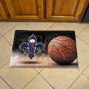 NBA - New Orleans Hornets Scraper Mat 19x30 - Ball