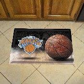 NBA - New York Knicks Scraper Mat 19x30 - Ball