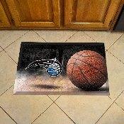 NBA - Orlando Magic Scraper Mat 19x30 - Ball