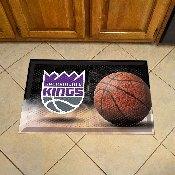 NBA - Sacramento Kings Scraper Mat 19x30 - Ball