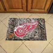 NFL Detroit Red Wings Scraper Mat 19x30